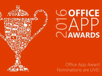 【Officeアドイン】Office App Awards Contest開催!